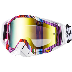 100% Racecraft Anti Fog Mirror Gafas, glitch